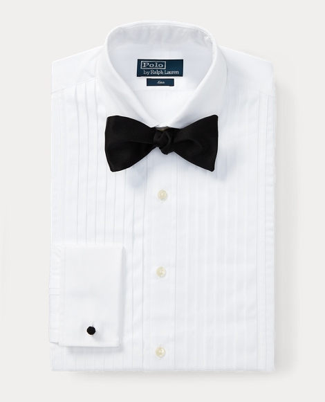 Custom Fit Cotton Tuxedo Shirt