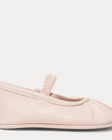 Lambskin Pleated Slipper
