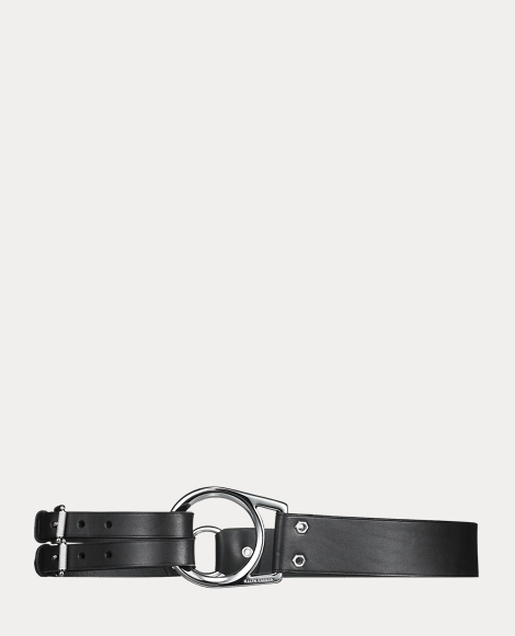 Leather Tri-Strap Belt