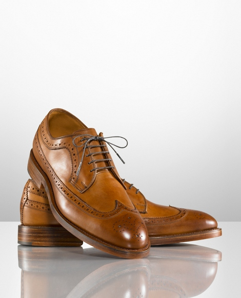 Sanderson Burnished Wingtip