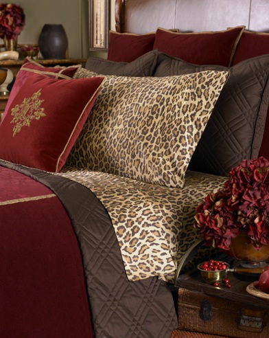 Venetian Court Leopard PC Set