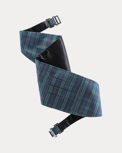 Black Watch Silk Cummerbund