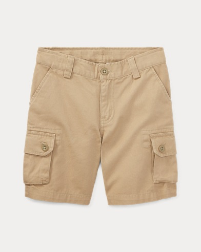 Cotton Chino Cargo Short