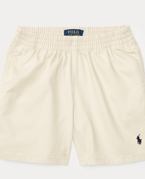 Cotton Pull-On Chino Short