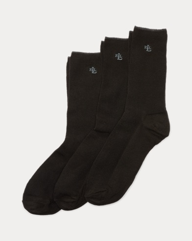 Ribbed Trouser Sock 3-Pack