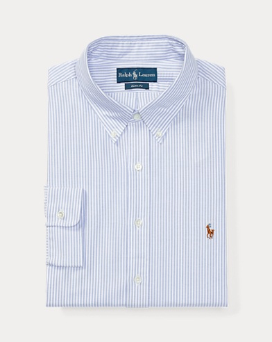 Custom Fit Oxford Dress Shirt