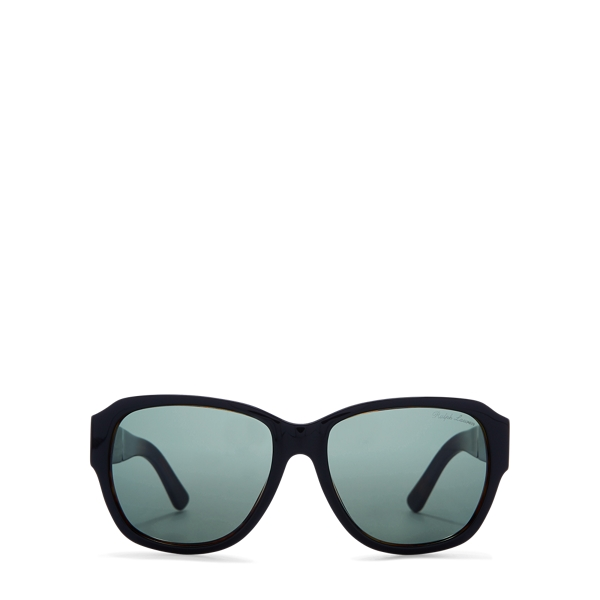 Ralph Lauren Large Overlay Sunglasses Black One Size