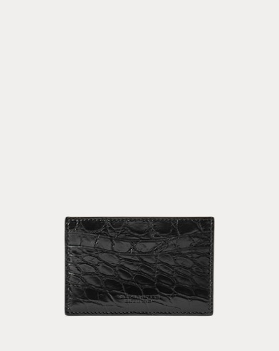 Alligator Card Case