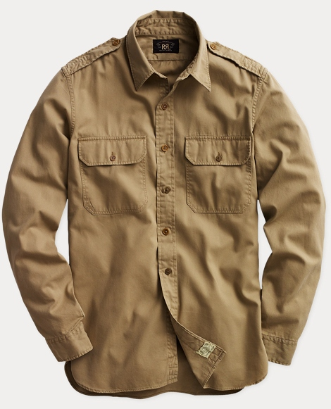 Twill Military Shirt