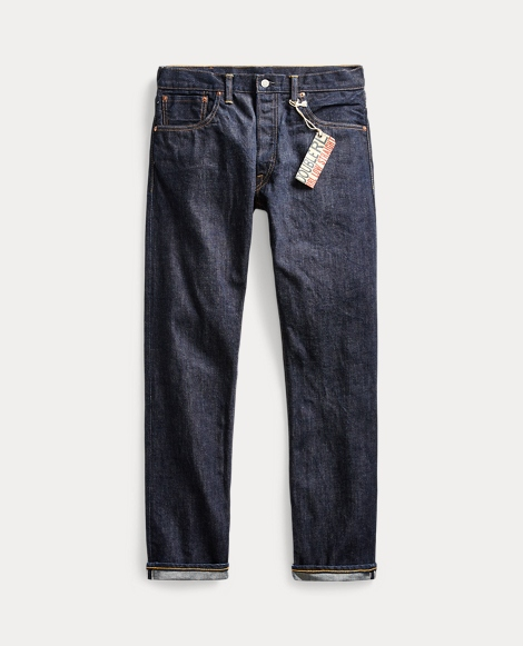 Low Straight Once-Washed Jean