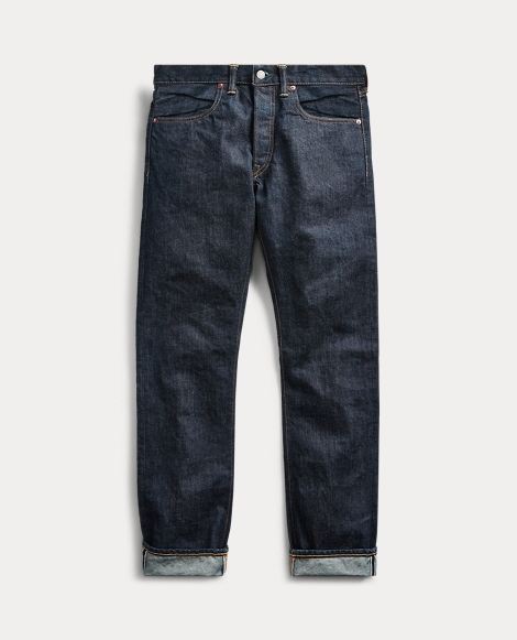 Slim Fit Once-Washed Jean