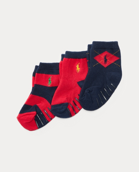 Argyle Rugby Sock 3-Pack