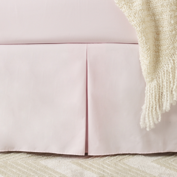 Ralph Lauren Huntley Bed Skirt Pale Pink Bed Skirt Twin