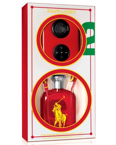 Big Pony RL Red Speaker Set