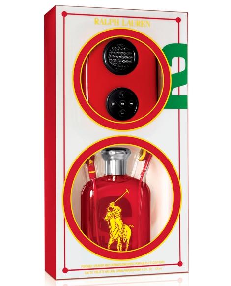 Big Pony RL Red Speaker Set
