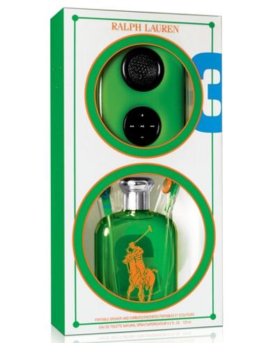 Big Pony RL Green Speaker Set