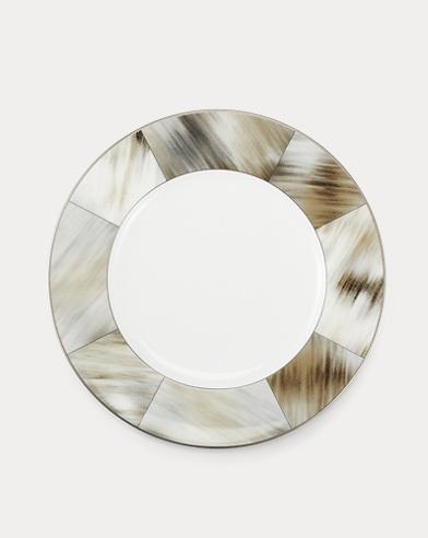 Gwyneth Horn Dessert Plate