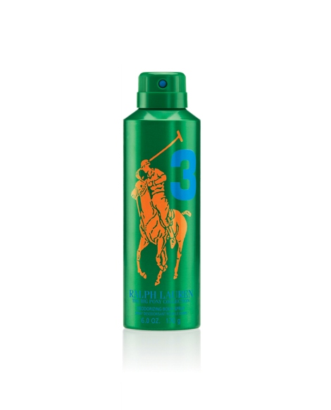 Big Pony RL Green Body Spray
