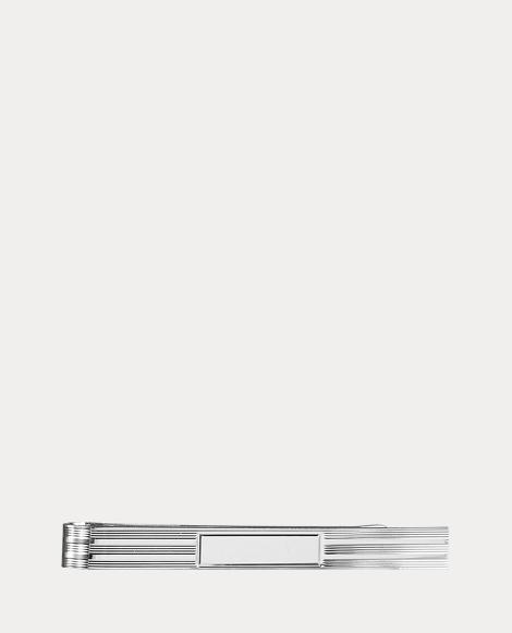 Large Engine-Turned Tie Bar