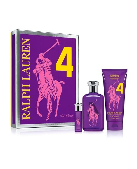 Big Pony RL Purple Gift Set