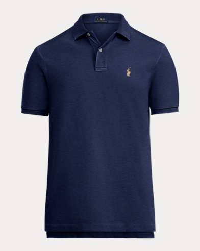 Classic Fit Weathered Polo Shirt