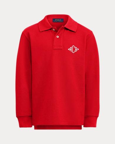 Boy's Dog Polo Shirt