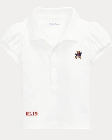 Baby Boy Bear Polo Shirt