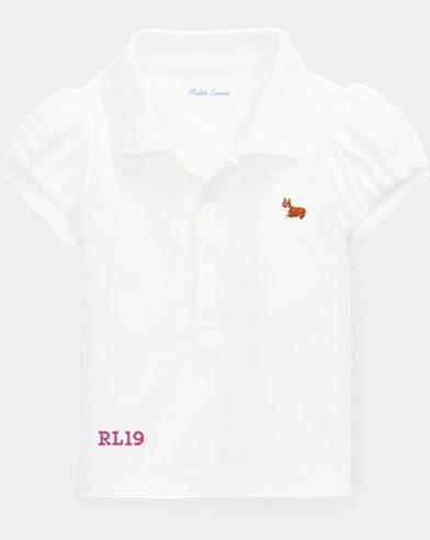 Baby Girl Dog Polo Shirt