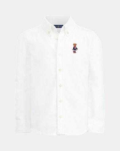 Girl's Bear Oxford Shirt