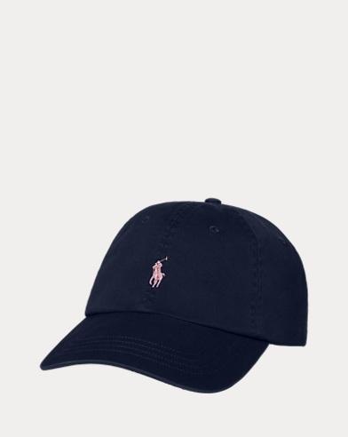 Cotton Chino Dog Baseball Cap