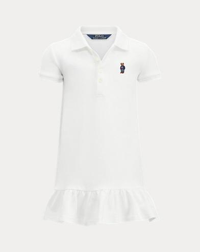 Girl's Monogram Polo Dress