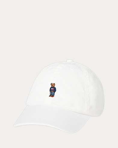 Girl's Bear Baseball Cap